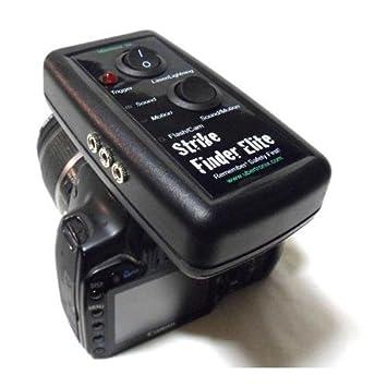 ubertronix buscador de Strike Elite con cable RS60E3 para Canon cámaras (Lightning, Laser,