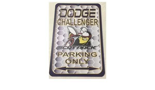 Red /& White .040 Aluminum Dodge Charger Scat Pack Parking Only Sign NEW