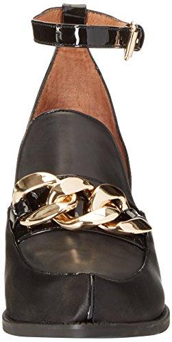 Jeffrey Campbell Women's Walden Chh Closed Toe Heels Black (Patent Black) outlet enjoy cheap sale pick a best vXmpUITV
