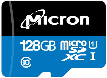 Micron Industrial Memoria Flash 128 GB MicroSDXC Clase 10 ...