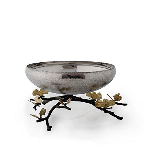 Michael Aram Butterfly Ginkgo Footed Medium Centerpiece Bowl