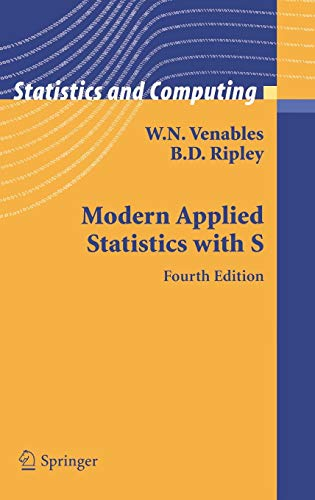 Modern Applied Statistics with S (Statistics and Computing)