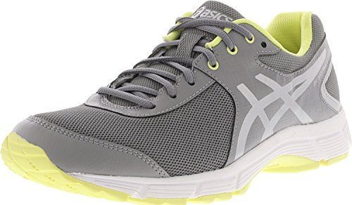 ASICS Women's Gel-Quickwalk 3 Aluminum/Silver/Elfin Yellow 6.5 B US