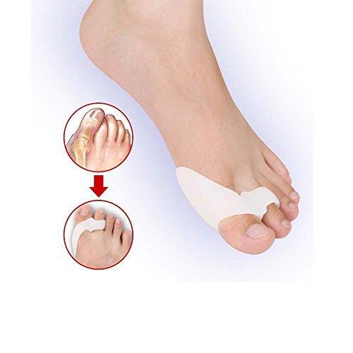 tarasun-1pair-silicone-gel-foot-fingers-two-hole-toe-separator-thumb-valgus-protector-bunion-adjuste