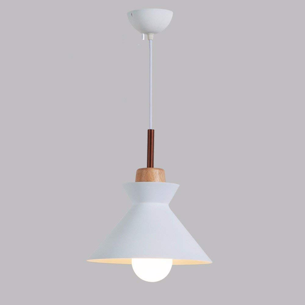 Hai Ying   Pendelleuchte Kronleuchter Restaurant Licht Nordic Moderne Led Kreative Wohnzimmer Bar Aluminium 5 Watt Weiß 25  26 cm