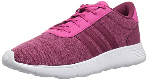 adidas Originals Unisex-Kids Lite Racer Running Shoe, Real Magenta/Mystery Ruby/Mystery Ruby, 12K M US Little - Racer Red Girl