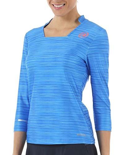 Bull padel Camiseta BULLPADEL VALBON Azul Mujer: Amazon.es ...