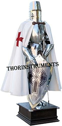 Crusader Knight Jousting Suit of Armor Full Costume