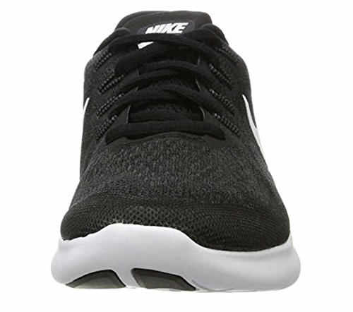 NIKE Free RN 2017 Mens Running Trainers 880839 Sneakers Shoes (UK 6 US 7 EU 40, Black White Dark Grey 001) by Nike (Image #3)