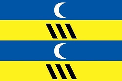 U24 Motorradflagge Ameland Fahne Flagge 20 x 30 cm