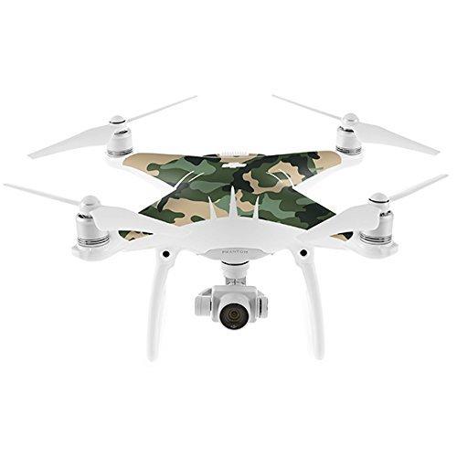 Dronewraps Camo Series Skin Wrap For DJI Phantom 4 Traditional Camo