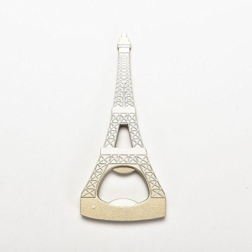 (Party Favors - 1pc Design Eiffel Tower Bottle Opener Corkscrew Party Favor Wedding Shower Gifts - Balls Eiffel Kiss Gold Rainbow Pencils Venom Instruments Toddler Cube Pads Play Ring Ladybug)