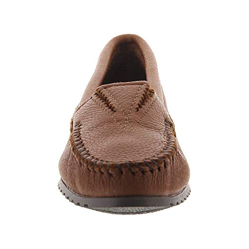 Women Shoes Tan caramel Loafer Minnetonka Zxd1wPCqZ