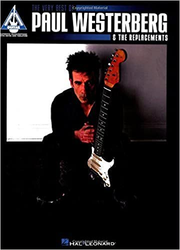 Book The Very Best of Paul Westerberg & The Replacements (Guitar Recorded Versions) by The Replacements (2010-11-01)
