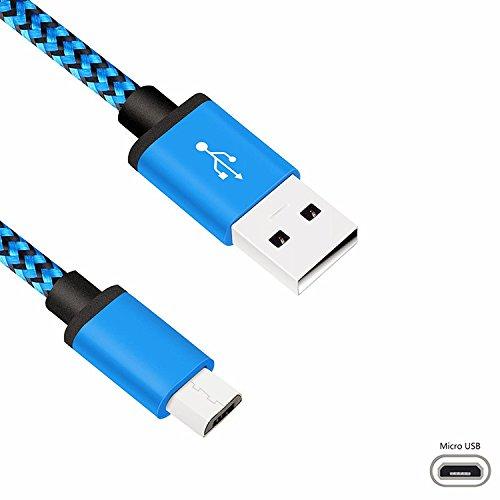 4 opinioni per superior ZRL Micro Cavo USB, Alta velocità in Nylon Intrecciato USB 2,0 Un
