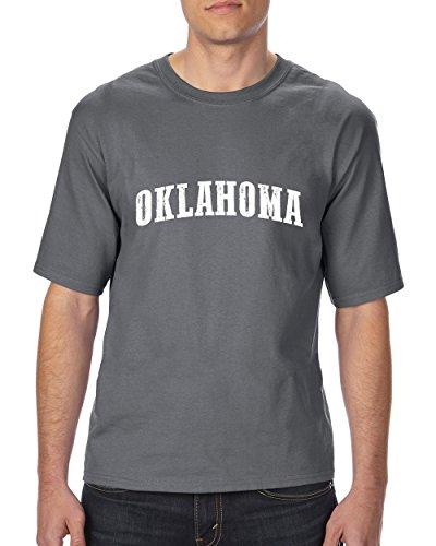 Ugo OK Oklahoma Map Oklahoma City Sooners Home of University of Oklahoma Ultra Cotton Unisex T-Shirt Tall - Map Stores University Village
