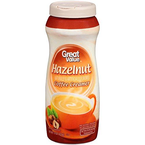 Great Value Hazelnut Coffee Creamer, 15 oz