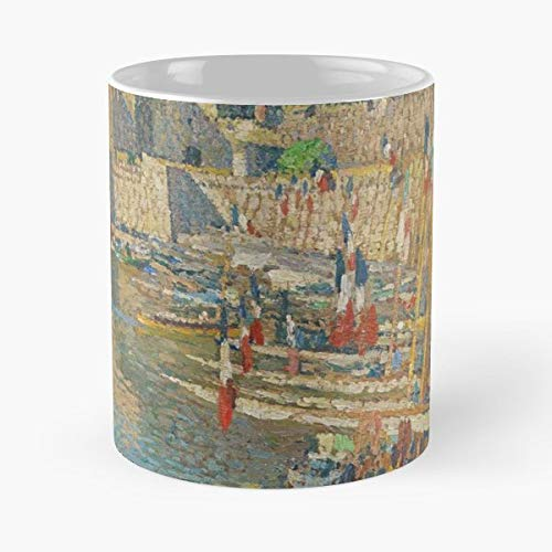 France French Artist Impressionist Famous - Funny Sophisticated Design Great Gifts -11 Oz Coffee Mug.the Best Gift For Holidays.