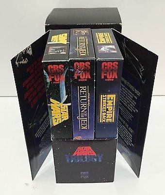 - Star Wars Box Set VHS 1988