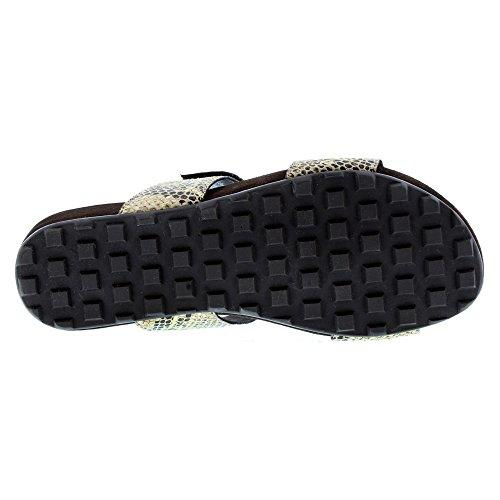 Women's Penny Snake Walking Snake X Print Brown Print WIDE Silver Black sandals 9 Cradles Gold qEnSx1Sa5