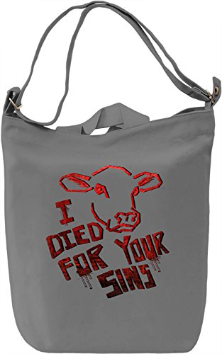 I Died For Your Sins Borsa Giornaliera Canvas Canvas Day Bag| 100% Premium Cotton Canvas| DTG Printing|