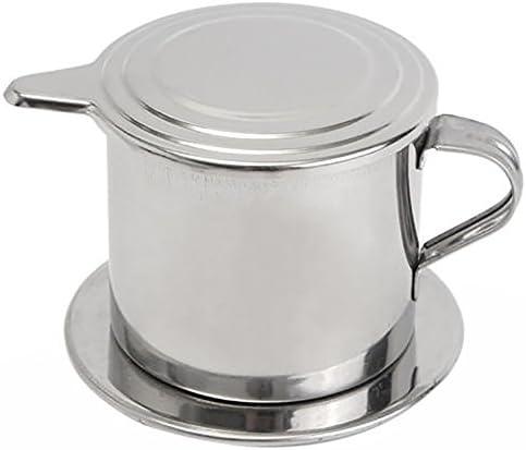 ONEVER Acero inoxidable café Gotero de Latte del café taza del ...