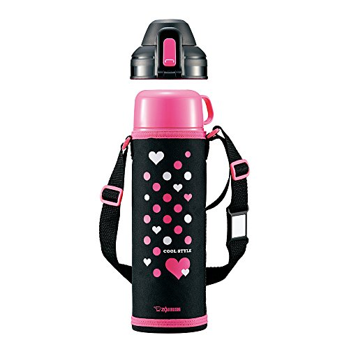 Zojirushi stainless bottle (1.03L) Pink Black SP-HB10-BP