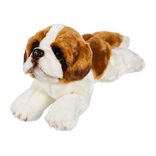 b.Boutique Wildlife Adventures Saint Bernard Stuffed Animal ()