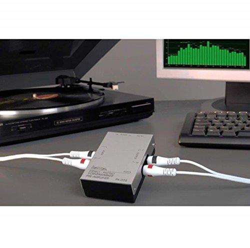 hama stereo phono vorverstärker pa 005