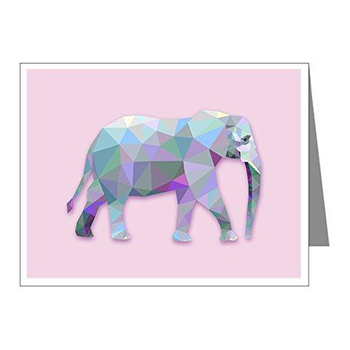 Note Card Triangle Elephant