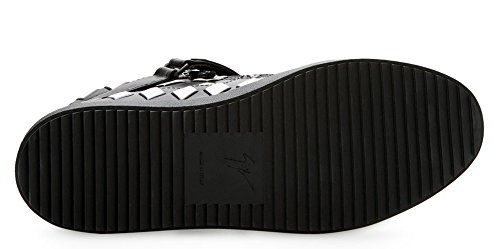 Giuseppe Zanotti Woven Calfskin Plaque-Strap High-Top (9 US / 42 EU) KjbOyL