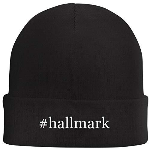 #Hallmark - Hashtag Beanie Skull Cap with Fleece Liner, Black, One Size (Hallmark 12 Days Of Christmas Ornament 2011)