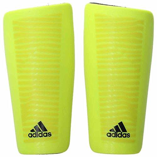 adidas Performance X Lesto Shin Guard, Solar Yellow/Black, Large