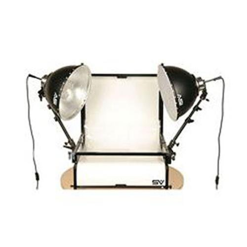 Smith Victor TST-F2 2- Light Fluorescent 700 watt (Tungsten Equivalent) Shooting Table Kit by Smith-Victor
