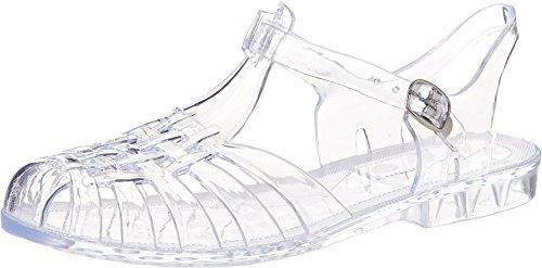 Chinese Laundry Women's Feliz Jelly Sandal, Clear, 10 M US