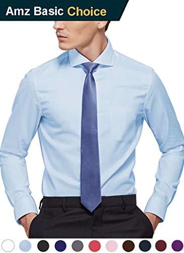 diig Men Dress Shirt Light Blue 16.5 by diig