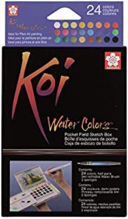 KOI XNCW-24N Sketch Box C/24 Past Y Pincel