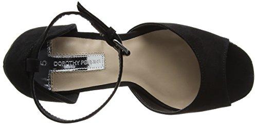 Perkins Black Star Platform WoMen Sandals Dorothy Black Glitter 7nCwAZxTq