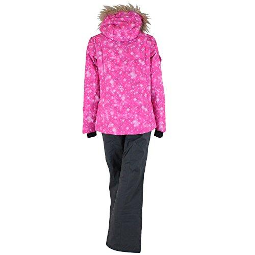 PHENIX(フェニックス)【PS5822P61】レディーススキーウェア上下セットパウダリースノーツーピースジャケットパンツPK(ピンク)L
