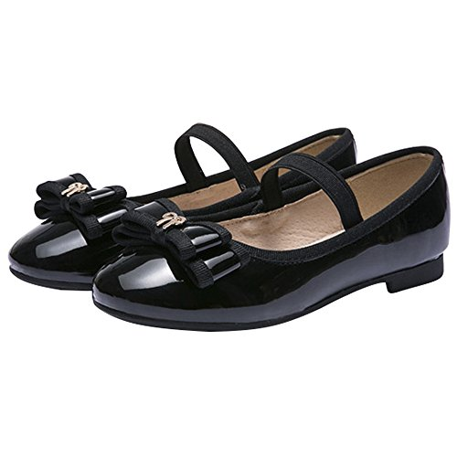 ivory and black dress shoes - 8