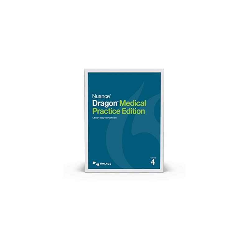 Nuance® Dragon® Medical Practice Edition 4 Speech Recognition Software for Windows