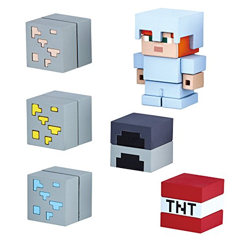 Mine-Keshi Minecraft Starter Cave Adventure Pack Featuring Alex with Iron Armor for $<!--$14.99-->
