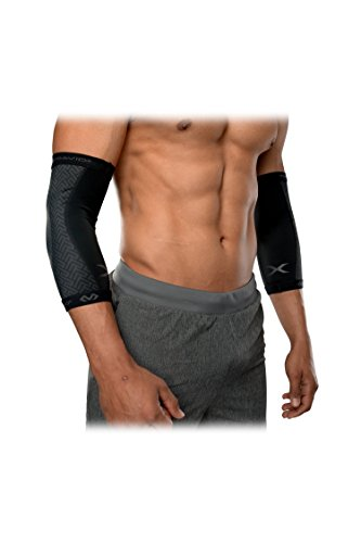 - McDavid MDX607 Fitness Elbow Sleeves, Black, Large