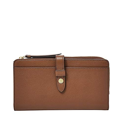 (Fossil Fiona TAB Wallet, Brown)