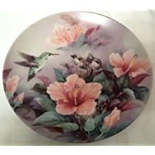 Nature's Harmony Bird Collector's Plate by Lena Liu from the Nature's Poetry Collection