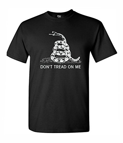 Cheap Don't Tread On Me Men's T-Shirts Political Tees free shipping
