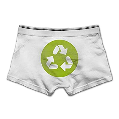 ZOZGETU Men's Ecology Underwear Soft Cotton Boxer Brief Boxer Briefs Underpants