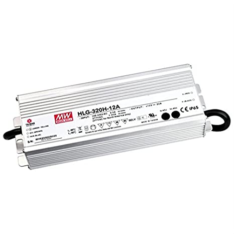 LED Fuente de alimentación 320W 24V 13, 34A ; MeanWell HLG-320H-24A IT-Tronics