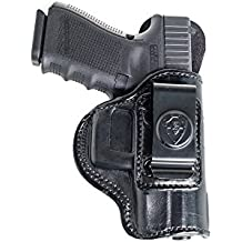 Inside The Waistband Leather Holster For Sig Sauer P320 Compact, Carry, Full Size. IWB Holster with Clip Conceal Carry.