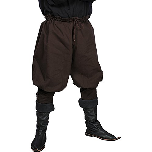 Larp Costumes Cheap (Armor Venue: Medieval Pants - Versitile Renaissance/Medieval Costume Pants (X-Small/Small,)